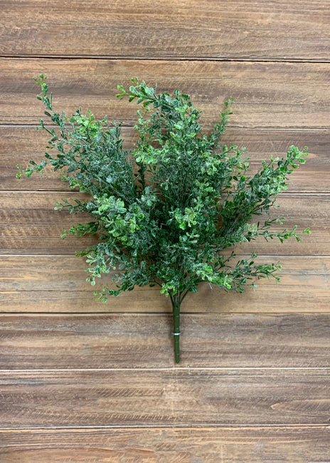 "ITEM 81379 - 19"" GLITTERED EUCALYPTUS BUSH"