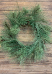 "ITEM 81411 - 24"" SOUTHERN PINE WREATH"