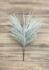 "ITEM 81424 - 16"" SNOWY GLITTERED LONG NEEDLE PINE PICK"