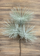 "ITEM 81425 - 28"" SNOWY GLITTERED LONG NEEDLE PINE SPRAY"
