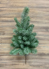 "ITEM 81432 - 18"" SNOWY PINE TREE STEM"