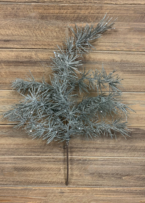 "ITEM 81435 - 19"" HIMALAYAN FROSTED CEDAR SPRAY"