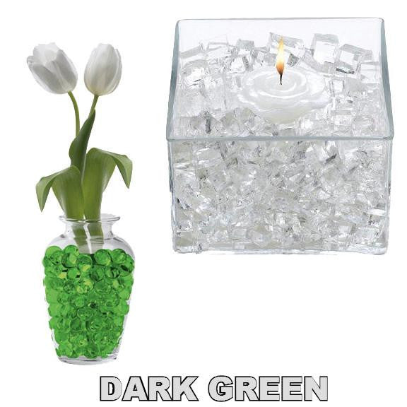 X -- ITEM 4060 DK GR - DARK GREEN CLASSIC CUBES - 14GM WATER STORING