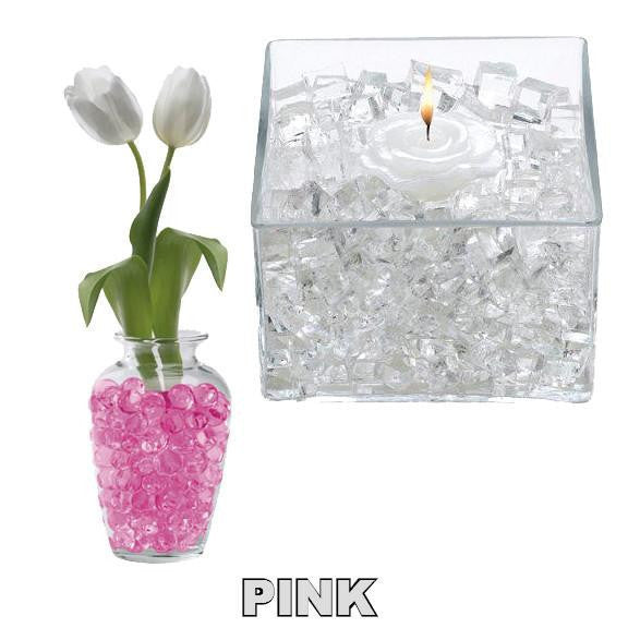 X -- ITEM 4060 PK - PINK CLASSIC CUBES - 14GM WATER STORING