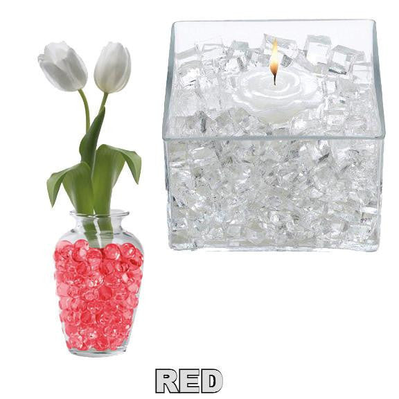 X -- ITEM 4060 R - RED CLASSIC CUBES - 14GM WATER STORING