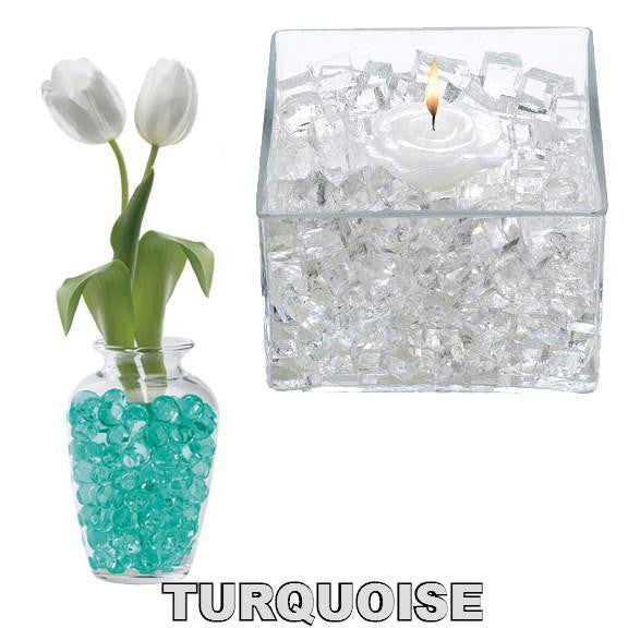 X -- ITEM 4060 TUR - TURQUOISE CLASSIC CUBES - 14GM WATER STORING