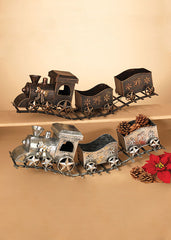 "ITEM G2099440 - 29""L METAL HOLIDAY TRAIN"