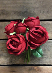 "ITEM 10140 R - 10.5"" RED ROSE BUNDLE"