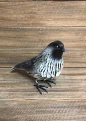 "ITEM KOP 11343 - 7""X4.25""X11"" METAL CHICKADEE"