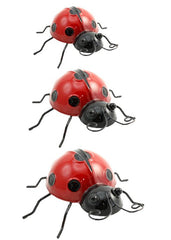 ITEM KOP 15362 - LADY BUGS - SET OF 3
