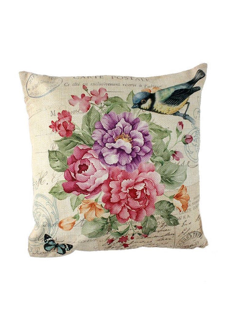 "ITEM KOP 21382 - 12.5""  FLORAL ACCENT PILLOW"