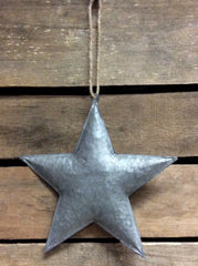 "ITEM KOP 21903 - 8.25"" GALVANIZED 3D METAL STAR"