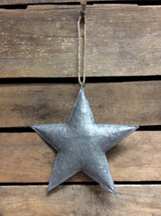 "ITEM KOP 21906 - 6"" GALVANIZED 3D METAL STAR"