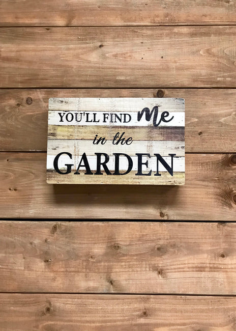 "ITEM KOP 22083 - 6.25""X9.75"" IN THE GARDEN PLAQUE"
