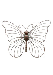 ITEM KOP 22582 - 26inX19.5in METAL BUTTERFLY WALL DECOR