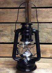 "ITEM KOP 26901 - 9.75"" BLACK LED METAL LANTERN"
