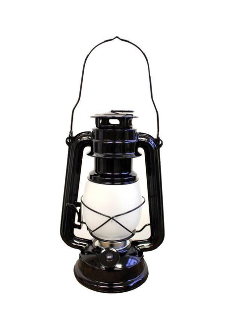 "ITEM KOP 26941 - 9.25"" X 6.25"" X 4.5"" LED LANTERN BLACK TORCH LIGHT"