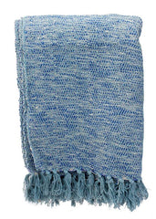 "ITEM KOP 27440 - 66""X51"" THROW BLANKET - BLUE"