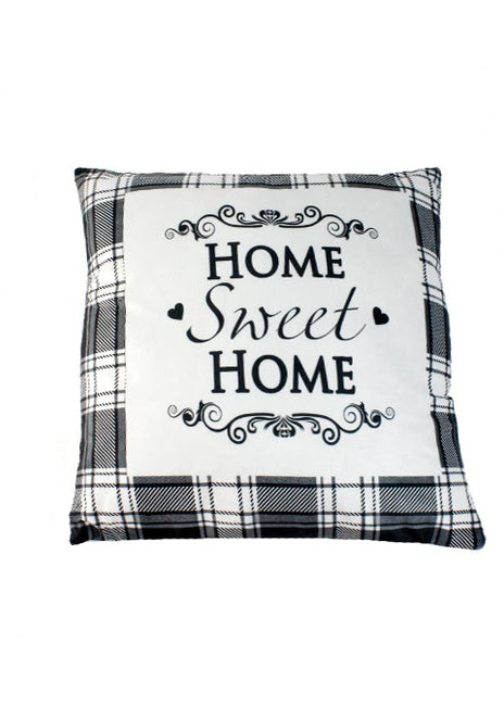 "ITEM KOP 40234 - 17.5""X17.5"" HOME SWEET HOME PILLOW"