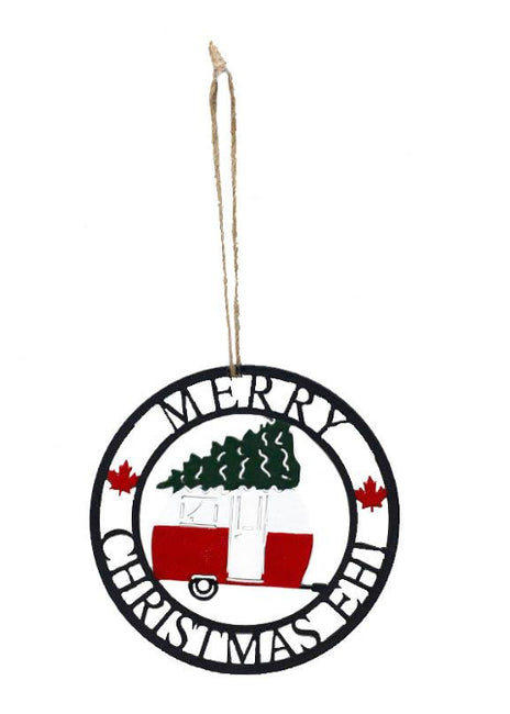 "ITEM KOP 41734 - 4""X4"" MERRY CHRISTMAS EH! ORNAMENT ©"
