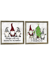 "ITEM KOP 42641 - 15.5""X15.5"" GNOME WALL PLAQUE"