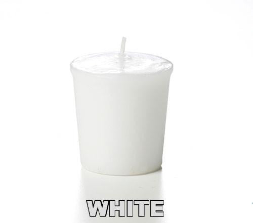 ITEM 310 W - 15 HOUR WHITE UNSCENTED VOTIVE