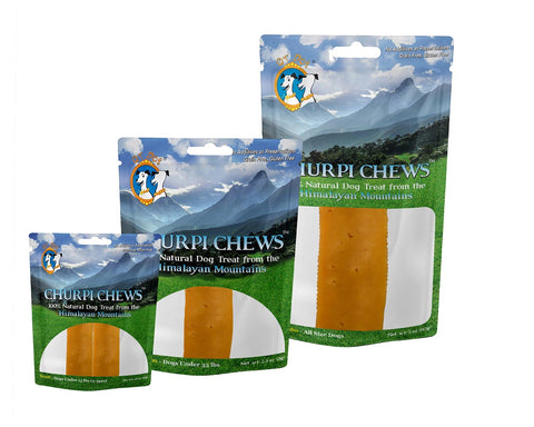 Churpi Chews Natural Himalayan Yak Cheese Dog Treat From Nepal