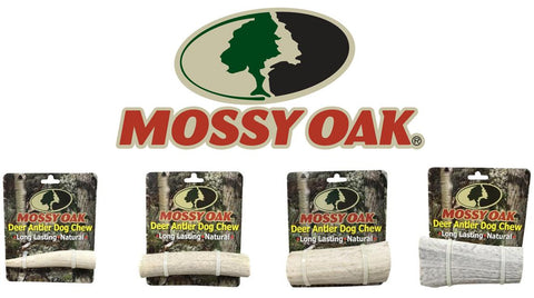 Mossy Oak Deer Dog Chews Long Lasting All Natural USA Made