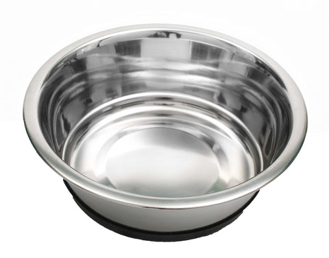 QT Dog Anti-Skid Stainless Steel Standard Food Bowls