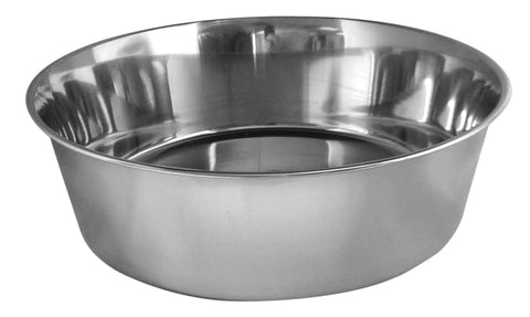 QT Dog Heavy Stainless Steel Dog Bowl