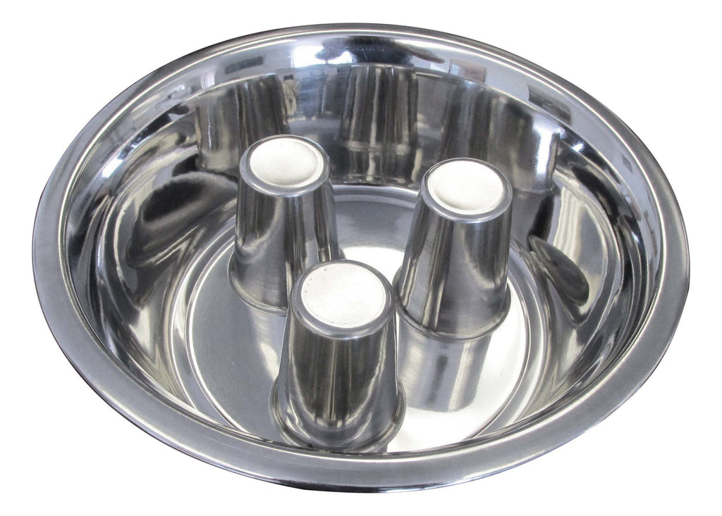 Standard Stainless Steel Brake Fast Bowl Slow Feed Dog