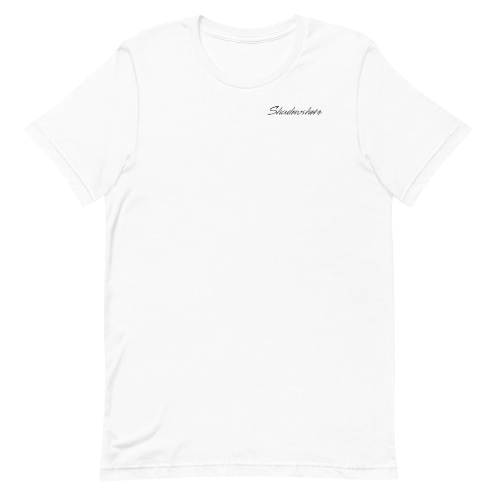 Shadowshore tee in white