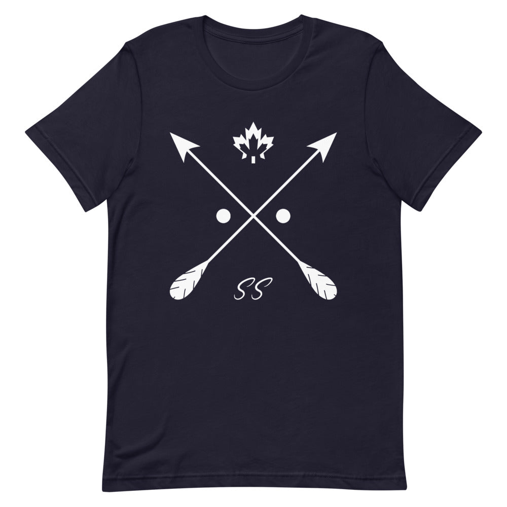 Shadowshore big logo tee in navy blue