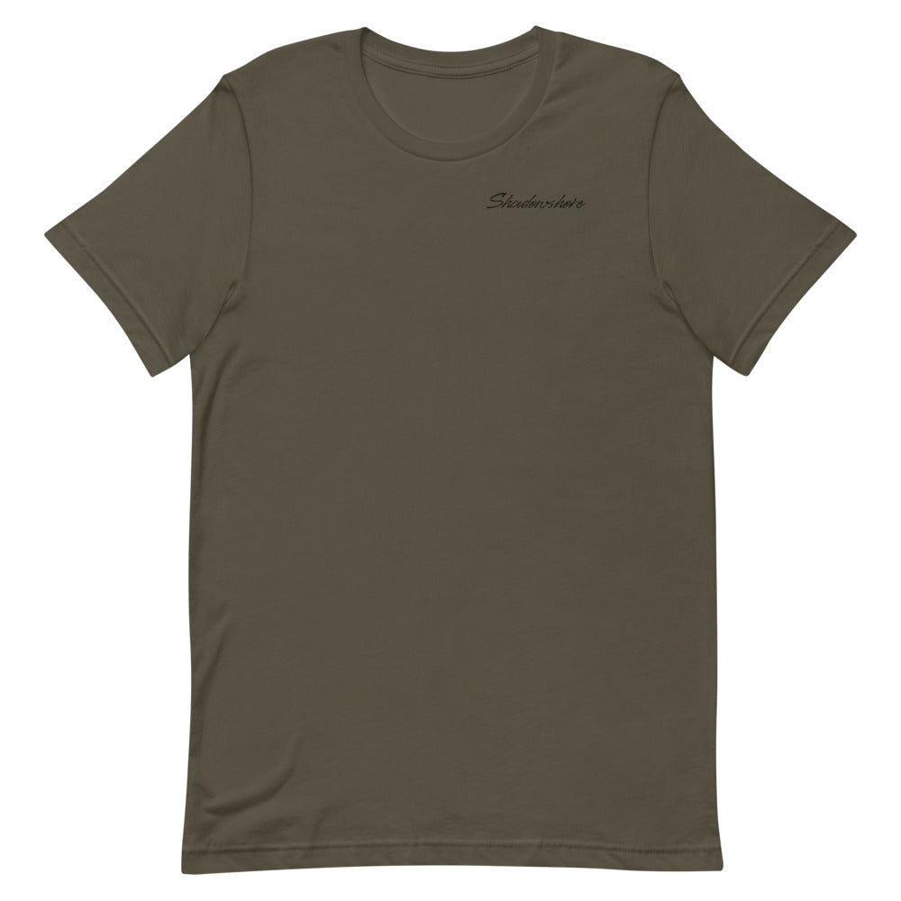 Shadowshore tee in army green
