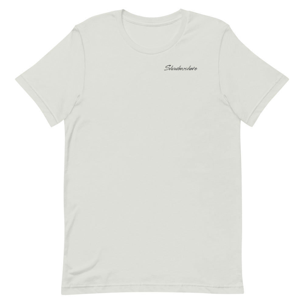 Shadowshore tee in silver
