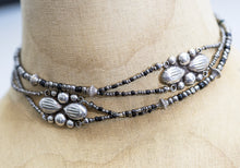 Load image into Gallery viewer, Sterling Silver Mexican Concho Variable Length Necklace