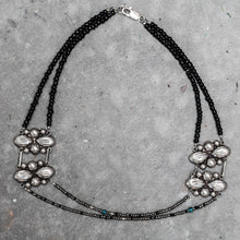 Load image into Gallery viewer, Sterling Silver Mexican Concho Necklace
