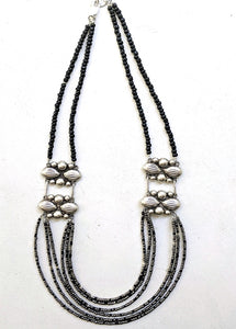 Mexican Concho + Sterling Silver Necklace