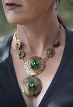 Load image into Gallery viewer, Mid-Century Modern Statement Necklace Sunlit 53