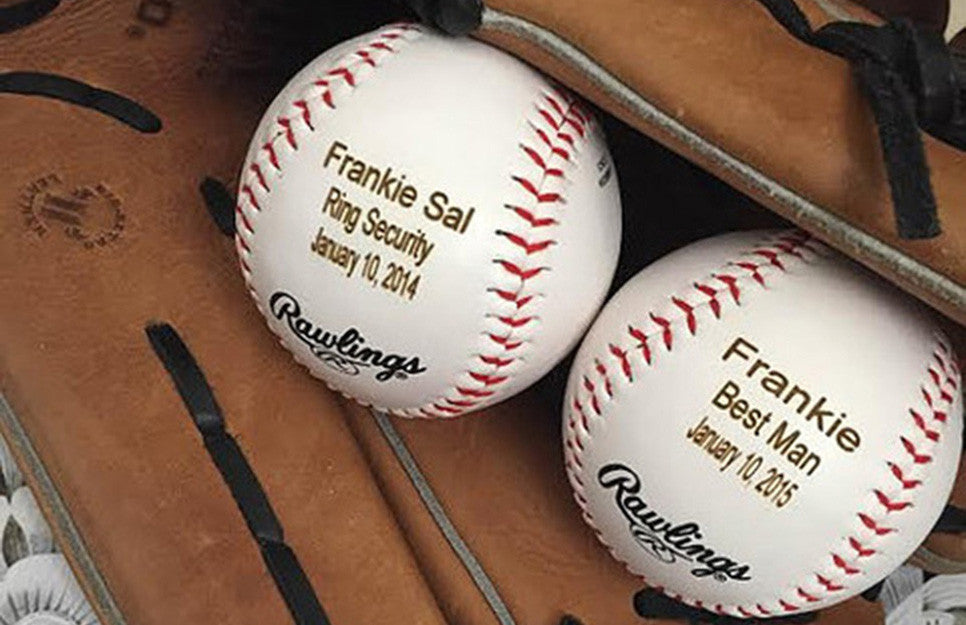 Personlized Baseball Gifr by Hanger Design Center