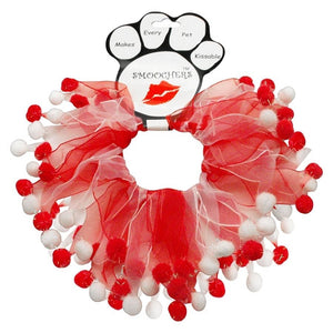 image of dog neck scrunchie