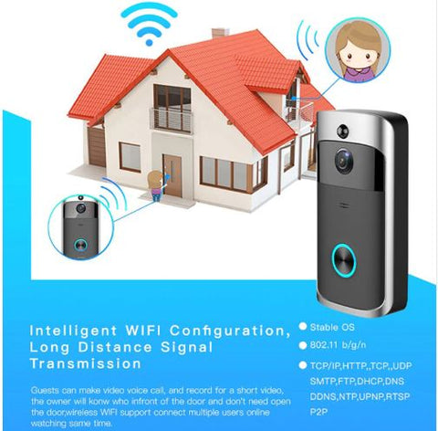 WI-FI Door Bell with HD Camera