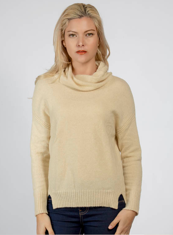 Twist Collar Sweater
