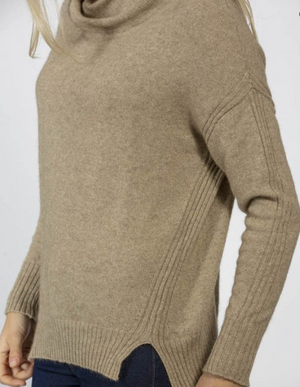 Open image in slideshow, Twist Collar Sweater