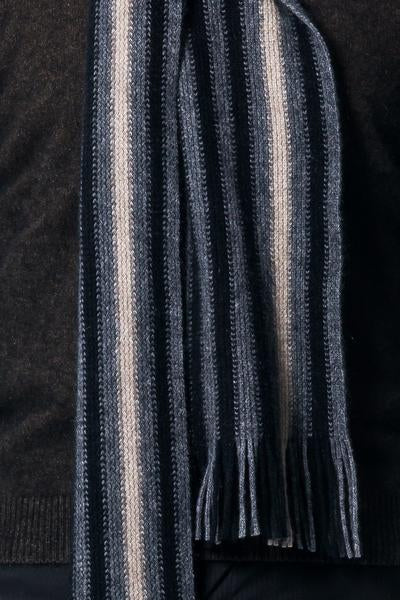 Offset Stripe Scarf