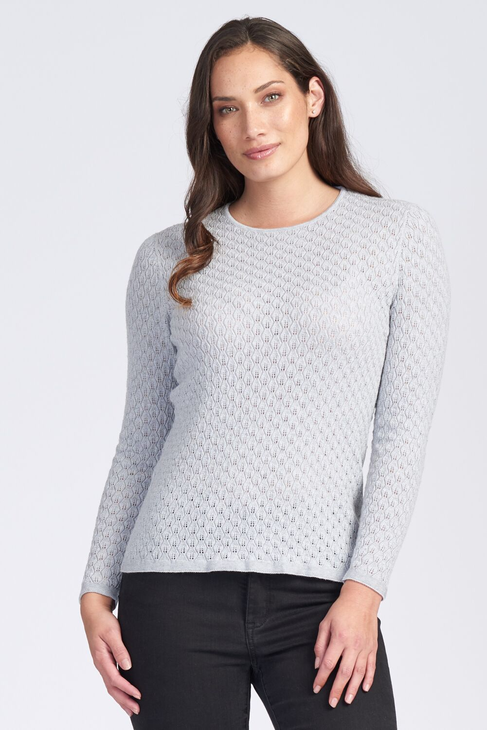 Merino Lace Jumper