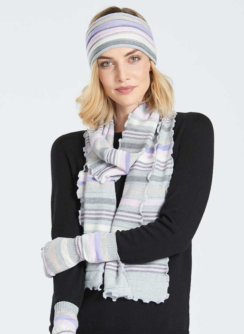 Merino Multi Stripe Scarf New