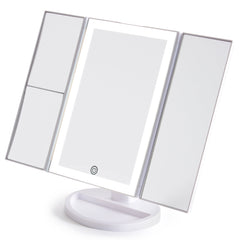 LIT by Prosper Beauty (LED Panoramic Vanity Mirror - White)