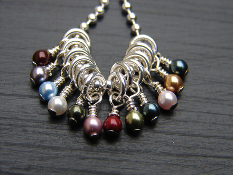 Birthstone Pearl Dangle