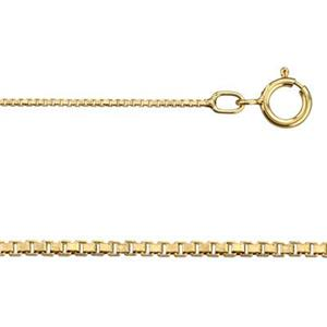 gold-filled box chain